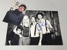CHAD SMITH 'Red Hot Chili Pepers' In-person signed  Foto 20x30 Autogramm + Foto