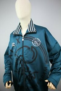 Ajax Amsterdam Umbro Full Zip Track Suit Jacket Soccer Size: 2XL