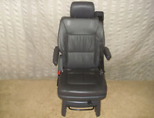 T5 multivan assise drehsitz siège en cuir anthracite ledersitz accoudoirs orig VW