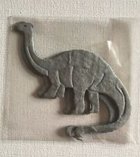 5 Die-Cut Brontosaurus Card Making Scrapbook Craft Embellishments Toppers