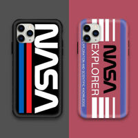 Nasa Colourful Fashion Line Cover Case For iPhone 11 Pro Max XS XR 8 7 Plus 6S
