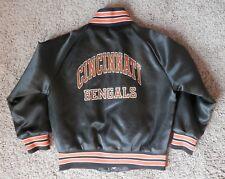 Vintage Cincinnati Bengals Chalkline Satin Snap Jacket Toddler 5T Retro NFL