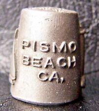 THIMBLE, PISMO BEACH, LIGHTHOUSE SUITES, CALIFORNIA, PEWTER, VINTAGE