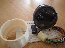 VDO VIEWLINE Öldruckanzeige 0-5 Bar  12V 24V Motoröl Instrument Gauge 52mm Neu !