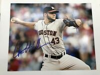 Houston Astros Lance McCullers Signed Authgraphed 8x10 Photo B