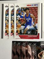 Lot Of (9) RC's 2019-20 Hoops #245 Terance Mann Rookie Card 📈👀📈