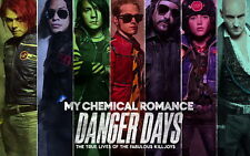 """09 My Chemical Romance - American Rock Band Music Star 38""""x24"""" Poster"""
