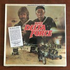 "Delta Force ""Soundtrack"" (1986) Enigma Records – SJ73201 Vinyl LP Cannon Films"