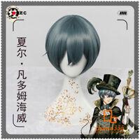 Anime Black Butler Ciel Phantomhive Cosplay Men Boy BL Short Harajuku Hair Wig
