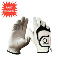 Cabretta Leather Golf Gloves ML Value Pack Left/Right Hand Premium Cadet Sizes