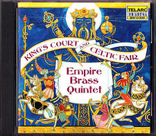 Empire Brass King's Court and Celtic Fair Telarc CD Amazing Grace la mourisque