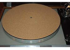 NEW Audiophile Cork Turntable Mat Rega Linn Avid Pro-Ject VPI Music Hall Thorens