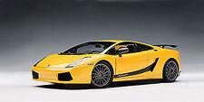 Autoart LAMBORGHINI GALLARDO SUPERLEGGERA YELLOW 1/18 Scale. Hard to find!