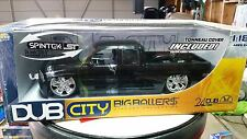 New-Jada Toys Dub City Big Ballers Chevy Silverado Die-Cast 1:18- NIB!