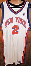 New York Knicks Maurice Taylor Jersey #2 Autographed Game Worn 2004 05