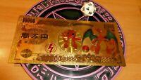 POKEMON GOLD BILLET CARD GO CARTE CHARIZARD / DRACAUFEU JAPAN NEUF NEW MINT