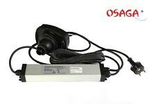 Netzteil mit Lampenfassung für OSAGA UVC Klärgerät 75 Watt Teich Filter Klärer