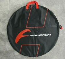 1 x FULCRUM PADDED ZIPPED WHEEL COVER STORAGE CARRY BAG ~ COLOUR: BLACK ~ NEW