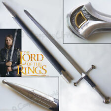 LOTR Lord of the Rings Aragorn Anduril Blade Sword Of King Elessar with Scabbard
