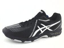 ASICS Gel Netburner Ballistic MT Black Silver Volleyball Shoes B507Y Men's US 14