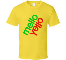 Mellow Yellow 80's Retro T Shirt Mens Tee Funny Size S - 3XL Gift New From US