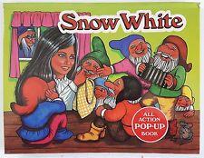 Snow White...All Action Pop-Up Book by Vojtech Kubasta 1985
