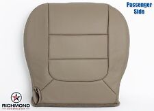 2003 Ford F150 Lariat Flare Step Side -Passenger Bottom Leather Seat Cover TAN