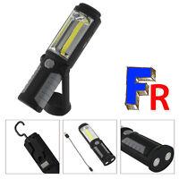 LED COB Lampe rechargeable Baladeuse Travail de Lampe Lumière Magnétique