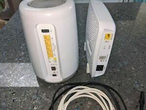 CENTURYLINK Greenwave C4000XG Fiber Optic Modem Router & CASA ND 0303 MODEM