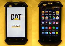 Caterpillar CAT B15Q Smartphone Outdoor 4GB DUAL SIM Schwarz
