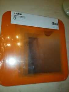 Ikea Hylkje Square Black Shatterproof Mirror 30 X 30 cm 11 3/4 X 11 3/4 Inches