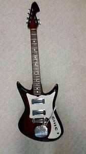 Vintage Teisco custom electric guitar