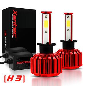 Xentec LED Light Conversion Kit H3 6000K Headlight Foglight 180W 60000 lumens