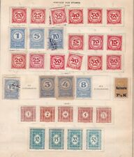 Austria ^1919-35 mint & used Post/Dues on 2 pages $@dccc6xxbostt3