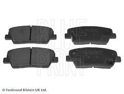 Fits Santa Fe 2.2 CRDi Turbo Diesel 10-16 Rear Brake Pads