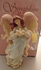 "Seraphim Classics Angel - Monica- ""Under Loves Wing"" by Roman # 78090 - W/Box"