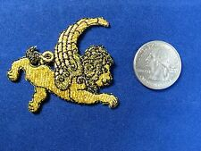 #2820 Golden Star Sign LEO ZODIAC Embroidery Iron On Applique Patch