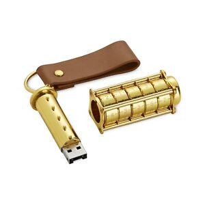 Cryptex 64Gb USB Flash Drive - Ultimate Geek Gadget!  (steampunk style)
