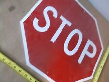 "Stop sign (plastic, 18"") (Qty 4)"