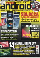 MONDO ANDROID - AUTUNNO 2012 - ANNO 14 - N.3 - SBLOCCA IL TUO SMARTPHONE