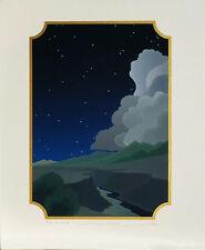 "Doug West, ""Winter's Edge"", Ltd ed serigraph, 9.75""h x 7""w image,1984"