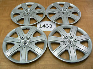 Original Renault Hub Caps Megane 7711217579 15 Inch 1 Set Wheel Cover ArNr1433