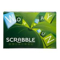 GAME FAMILY SCRABBLE BOARD LETTER CLASSIC GIFT WORD PUZZLE NEW XMAS Style