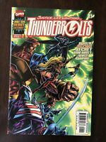 Thunderbolts #1 (1997) Marvel 1st Solo Double-Sized Comic NM/NM+ Mark Bagley