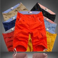 Sport Mens Cargo Pants Combat Trousers Summer Short Tool Cotton Big Size