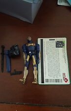 night creeper Dollar General gijoe cobra figure COMPLETE with file card