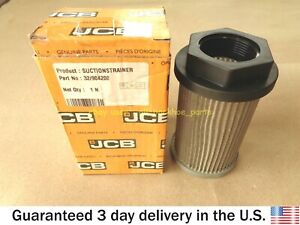 JCB BACKHOE- GENUINE JCB HYDRAULIC ELEMENT FILTER 125 MICRON (PART NO 32/904200)