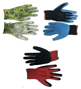 Gardening Gloves Mens Womens Childrens Kids Waterproof Comfy Protection