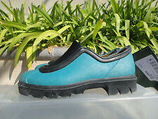 Le Chameau Liseron Sabotin Rubber Shoes/Booties, Florida Blue Womens' US5 UK2.5