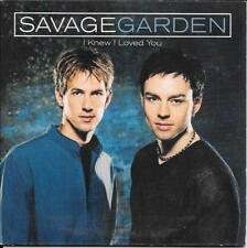 CD SINGLE 2 TITRES--SAVAGE GARDEN--I KNEW I LOVED YOU--1999